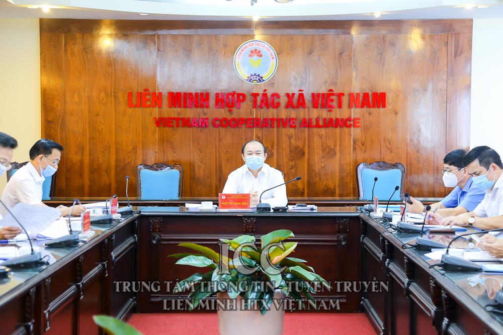 Hội nghị trực tuyến BCH Liên minh HTX Việt Nam